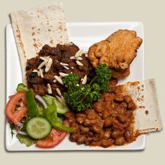 Typical Sudanese lunch. Sudanese usually eat heavy during lunch time and light during dinner time
