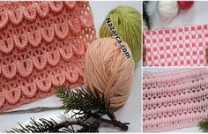 DANTELLİ PEMBİŞ BEBE ÇORAP ÖRME VİDEOLU | Nazarca.com Crochet Dinosaur Patterns, Knitted Hats, Crochet Hats, Organic Baby, Knitting Designs, Diy And Crafts, Blanket, Creative, Inspiration