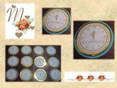 Mimos para você confeccionou com muito carinho o totens da Cinderela para uma festa pra lá de especial!!