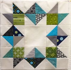 Quilt block - I like the colors