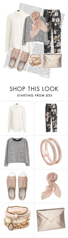 """""""spring blossom"""" by jiyeon-ham ❤ liked on Polyvore featuring Joseph, J.Crew, MANGO, Monica Vinader, FitFlop, Stella & Dot and Samantha Wills"""
