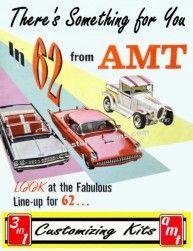 AMT 1962 Custom Model Car Kits