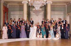 Invitados reales en la boda del príncipe Haakon de Noruega y Mette-Maritel