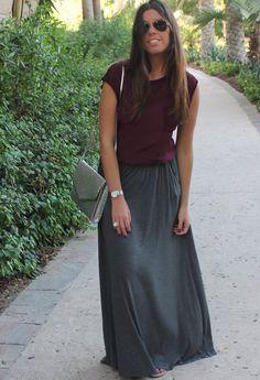 Grey skirt