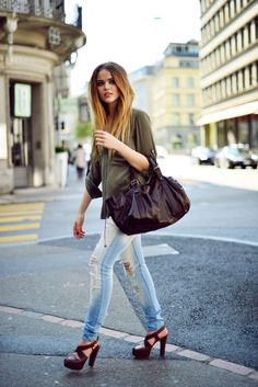 MY 24H DAREL by @kristina bazan wearing @Hollie Baker USA shirt, @Dee pants, @Angela Bertasson vuitton shoes, @Gerard Manjarrez darel bag.