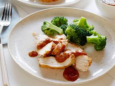 Chicken With Mango Barbeque Sauce