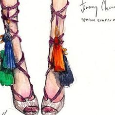 A shoe is not only a design, but it's a part of your body language, the way you walk. The way you're going to move is quite dictated by your shoes. #ChristianLouboutin #lepip #jimmychoo #illustration #beautiful #love #colourful #inspiration #musthave #fashion #fashionconsultant #styling #stylist #style #style4hire #sartorialsisterstakeover #sartorialsisters