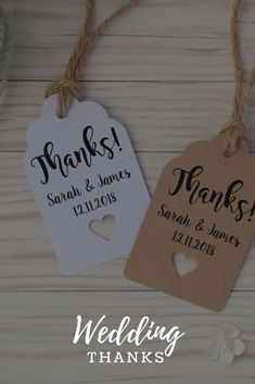 Personalised 'Thanks' Wedding Favour #weddingtime #weddingideas #eBay4Wedding