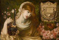 Roman Widow (detail). 1874. Dante Gabriel Rossetti
