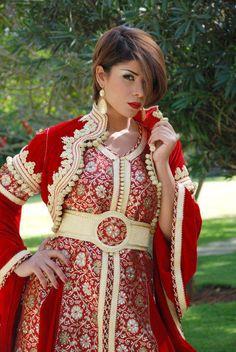 +++Caftan et djellaba de Maroc: caftan rouge 2015