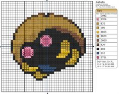 Pokémon – Kabuto 30x30 - 40x40, Birdie's Patterns, Gaming, I - L, Kabuto…