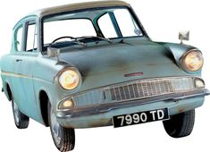 Poster of the Flying Ford Anglia to post on the skyline wall. | HP ...