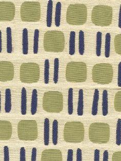 DecoratorsBest - Detail1 - Scala CO 26730-003 - Kioto - Ecru Green Blue - Fabrics - - DecoratorsBest