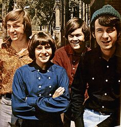 The Monkees - I had all their albums, and a big crush on Davy Jones! Their TV show was so corny but I watched it anyway just to see Davy. Michael Nesmith, Volbeat, 60s Music, Baby Boomer, The Monkees, Davy Jones Monkees, Pop Rock Bands, Old Tv Shows, My Childhood Memories