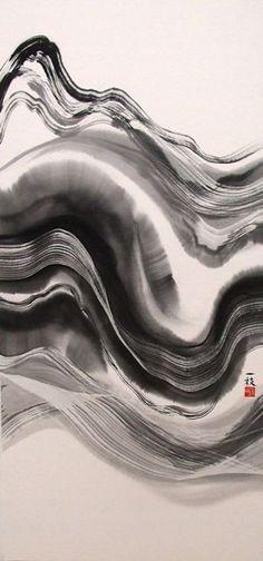 Kazue Kuyama - 久山一枝 水墨画: