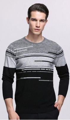 Men s Cashmere Sweaters For spring  summer autumn 2018 404253cbda8a