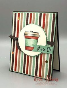 Z Cards, Coffee Cards, Stamping Up Cards, Graduation Cards, Fall Cards, Card Maker, Card Sketches, Coffee Cup, Homemade Cards