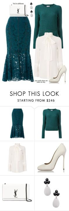 """""""You're Different'"""" by dianefantasy ❤ liked on Polyvore featuring Marissa Webb, Sonia by Sonia Rykiel, Nicholas, Dsquared2, Yves Saint Laurent, Rina Limor, polyvorecommunity and polyvoreeditorial"""