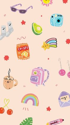Simple Iphone Wallpaper, Cute Pastel Wallpaper, Soft Wallpaper, Simple Wallpapers, Iphone Wallpaper Tumblr Aesthetic, Cute Patterns Wallpaper, Iphone Background Wallpaper, Aesthetic Pastel Wallpaper, Kawaii Wallpaper