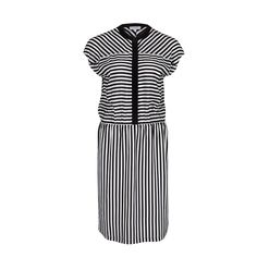 Striped summer dress from #Escada