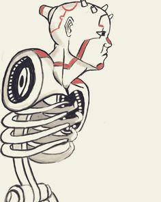 Cyborg... By Shubham kale @mr_shubham_kale