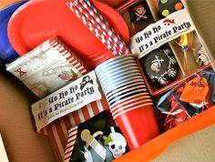 Mrs Fox's Pirate Party Box