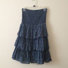 Strapless ruffle dress Strapless ruffle dress from Old Navy size extra small. Old Navy Dresses