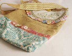 Hodge Podge BagNo. 01 by rebeccasower on Etsy