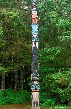 native american totampole animal symbols and meanings | Canadian Totem Pole Meanings
