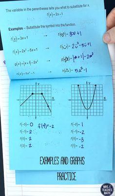 550 Best Algebra 2 Interactive Notebook images in 2019