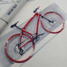 #bike #city #copic #sketch #mobility #shimano #industrialdesign #2wheels