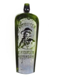 Gin - full size, dark-green 'E Kiderlen, Rotterdam' large pictorial of a General De La Rey 'Vrybuiter'…Click VISIT to find out how much this Bottle sold for and see more Bottles at MAD On Collections. Please feel free to share this pin or any other content from MADonC.com. MADonC.com is for the objects people love because there is always something more... Please do follow this board. Check us out on Facebook - https://www.facebook.com/Mad-on-Bottles-818609791640083/ #bottle #Gin #GinBottle