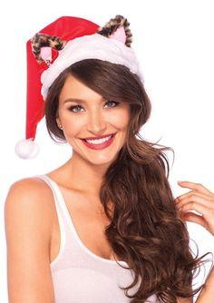 j valentine santa hat