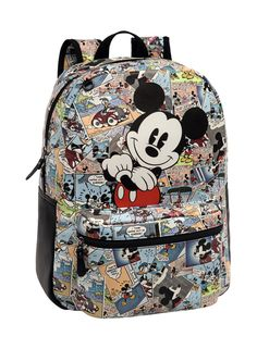 Mochila Mickey Comic #Mickey #Disney #JoummaBags #backpack #SS16