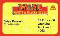 A renowned Indian Restaurant in Otahuhu is offering mouth-watering Sweets and Snacks across the Auckland area.