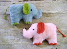 This pattern will instruct you on how to Knit my original Elephants, and I have included lots of photos to help you along the way! A perfect toy to