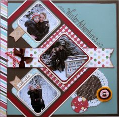 Scrapbook Layout Homemade with Love Carta Bella
