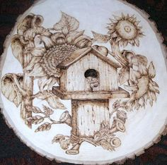 Sunset and Vine Pyrography - Dan LaTour