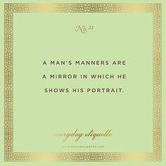 Everyday Etiquette No. 32