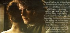 Outlander. I Couldna Bear...conversation of childbearing. Tap pic to read book excerpt.