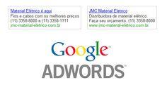 Criação e gerenciamento de campanha Google Adwords para a empresa JMC Comercial Elétrica.