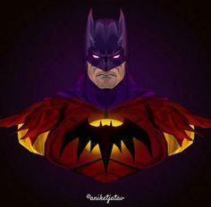 Batman Fan Art, Batman Artwork, Batman Comics, Batman And Superman, Batman Universe, Comics Universe, Batman Beyond Terry, Batman Suit, Arte Dc Comics