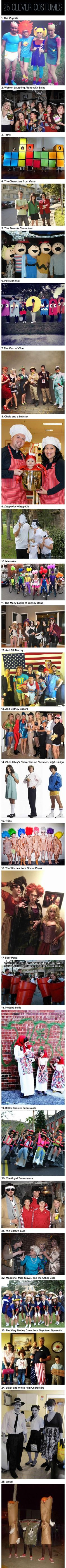 25 Clever Halloween Costumes To Wear As A Group