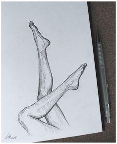 line figure drawing