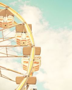 Ferris Wheel Photograph $25