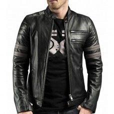 leather jacket men's motorcycle biker New lambskin coat Slim Men Jacket 794 Motorbike Jackets, Biker Jackets, Black Leather Bomber Jacket, Leather Jackets Online, Trench Coat Men, Men's Coats And Jackets, Leather Men, Lambskin Leather, Slim