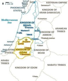 Color in the Divided Kingdoms of Israel and Judah.