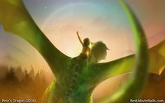 Concept art #wallpaper from Pete's Dragon :]