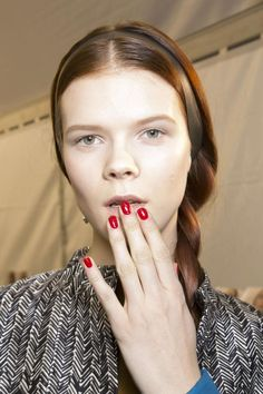 The Best Nail Art From Paris Fashion Week Spring 2014   Beauty High