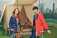 Suzy, of Miss A, and Kim Soo Hyun.